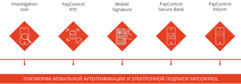 Структура платформы PayControl