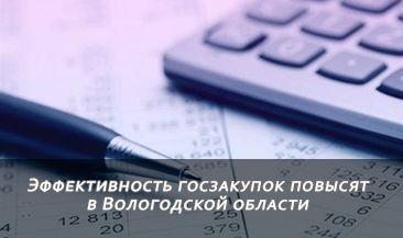 Эффективность госзакупок повысят в Вологодской области