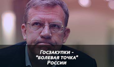 """Госзакупки - """"болевая точка"""" России"""