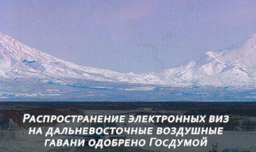 Распространение электронных виз на дальневосточные воздушные гавани одобрено Госдумой во втором чтении