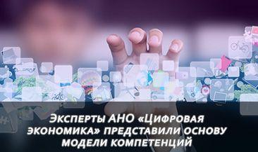 Эксперты АНО «Цифровая экономика» представили основу модели компетенций