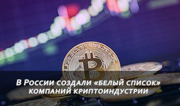 В России создали «белый список» компаний криптоиндустрии