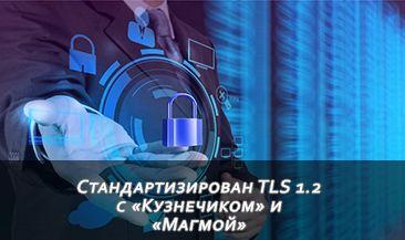 Стандартизирован TLS 1.2 с «Кузнечиком» и «Магмой»