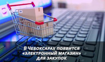 В Чебоксарах появится «электронный магазин» для закупок