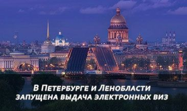 В Петербурге и Ленобласти запущена выдача электронных виз